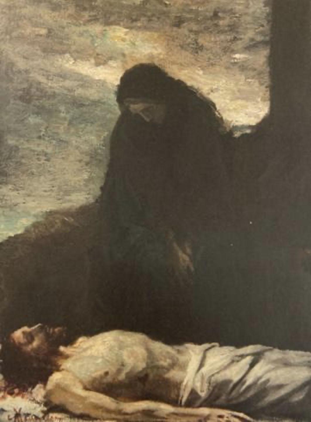 Constantin Meunier, Lamentation, 1870, Private Collection, Patrick Derom Gallery, Brussells.