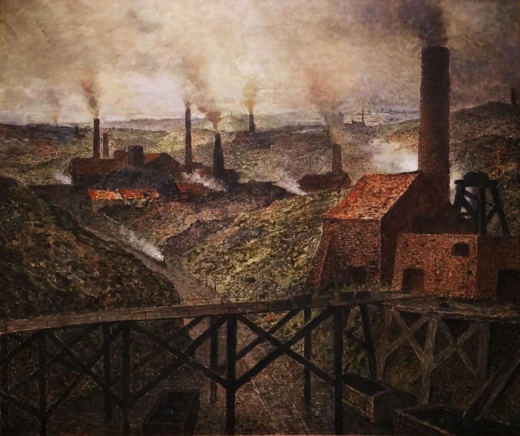 Constantin Meunier, Au pays noir, ca. 1893, oil on canvas, Musée d'Orsay, René-Gabriel Ojéda.