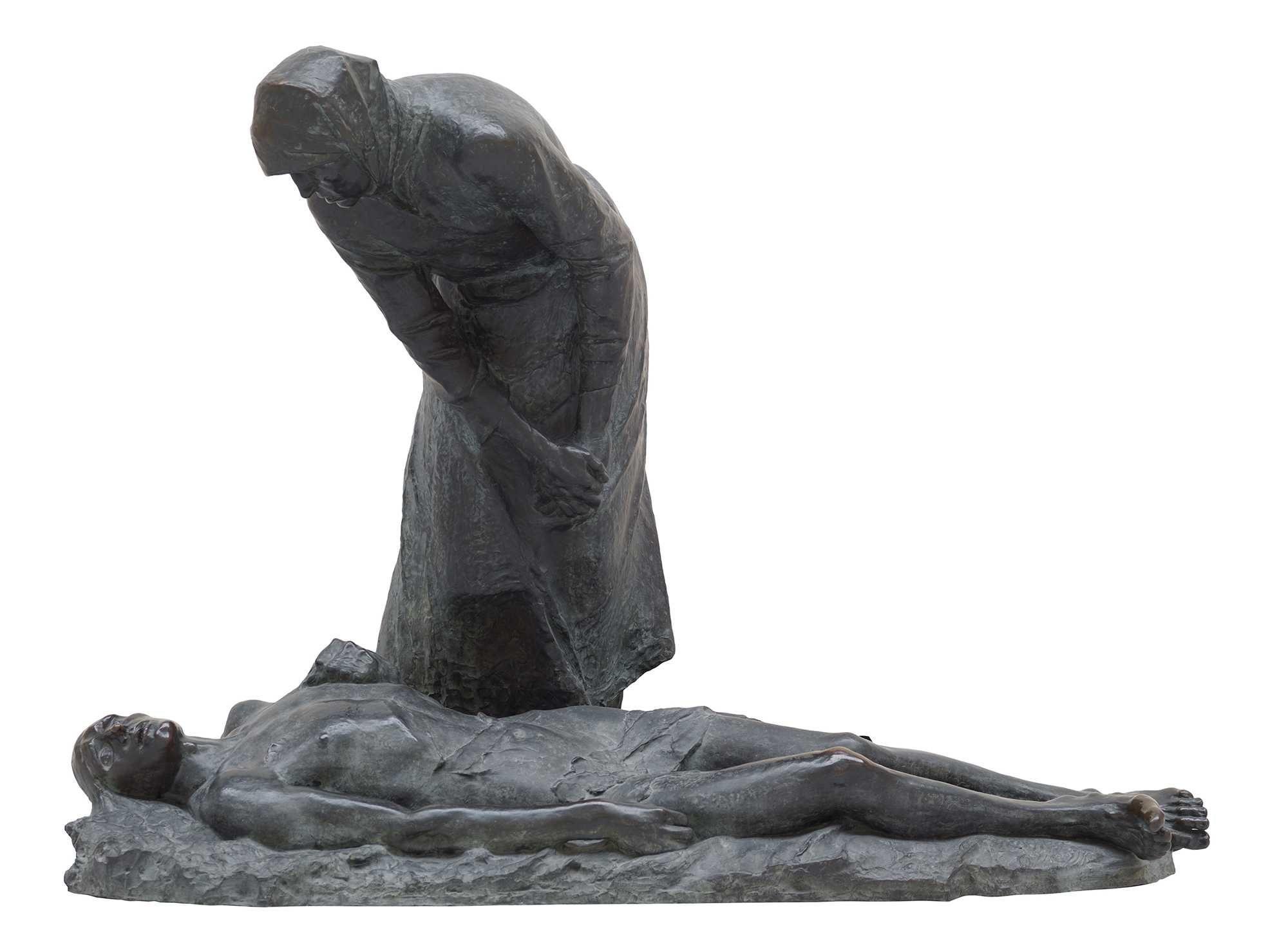 Constantin Meunier, Firedamp, 1888, bronze, Meunier Museum, Royal Museums of Fine Arts in Belgium, Brussels.